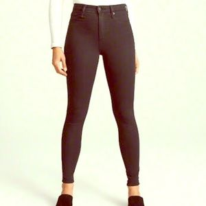 Abercrombie and Fitch high waist Jean jeggings